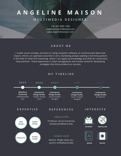 Colorful Career Timeline Infographic Templates By Canva