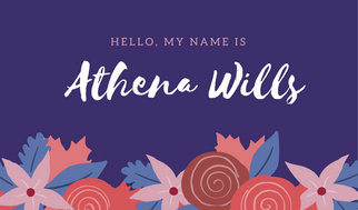 Customize 43 Name Tag Templates Online Canva