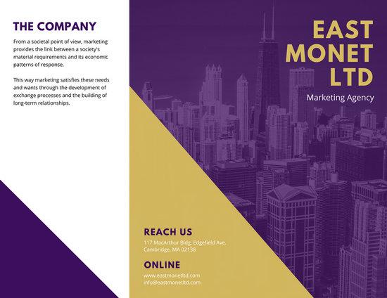 Sales Brochure Templates  Canva