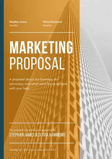 marketing business proposal