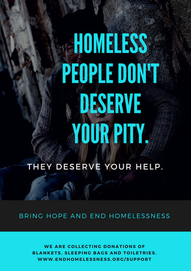 Customize 38 Homelessness Poster Templates Online Canva
