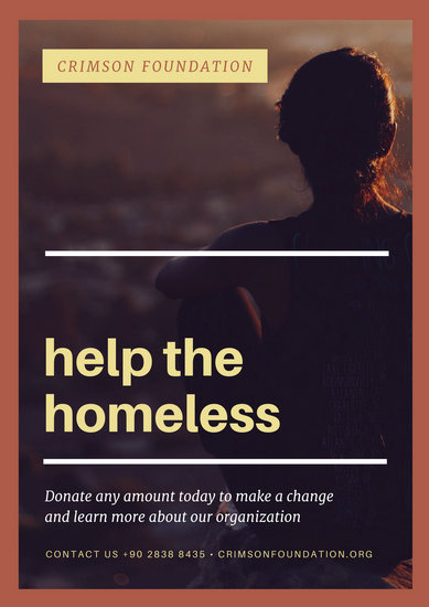 Customize 33 Poverty Poster Templates Online Canva