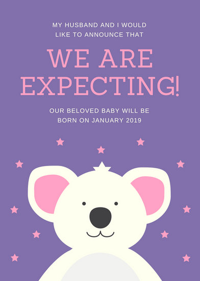 Customize 133 Pregnancy Announcement templates online  Canva