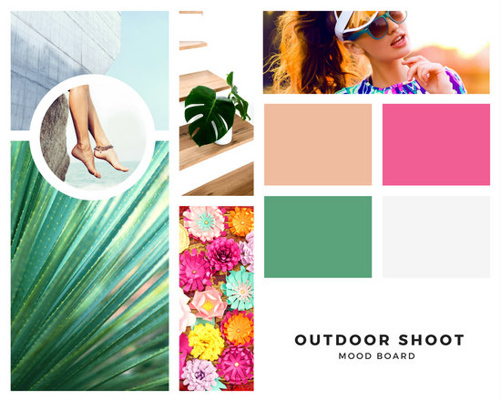 Customize 211 Mood Boards Photo Collage Templates Online