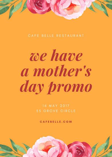 Customize 87 Restaurant Flyer Templates Online Canva