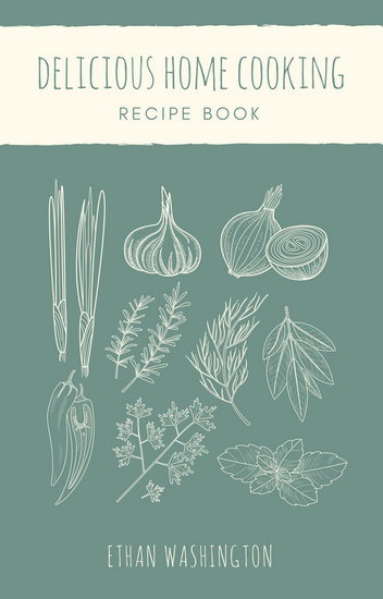 Customize 45 Cookbook Book Cover templates online  Canva