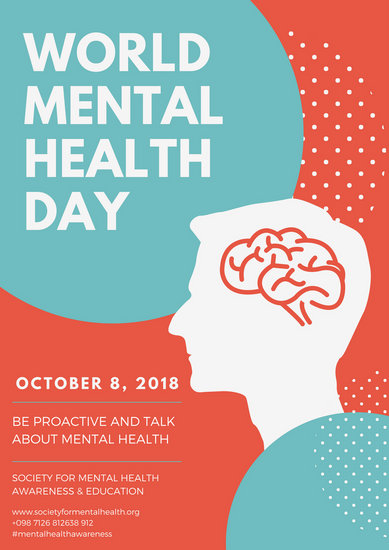 Customize 114 Mental Health Poster Templates Online Canva
