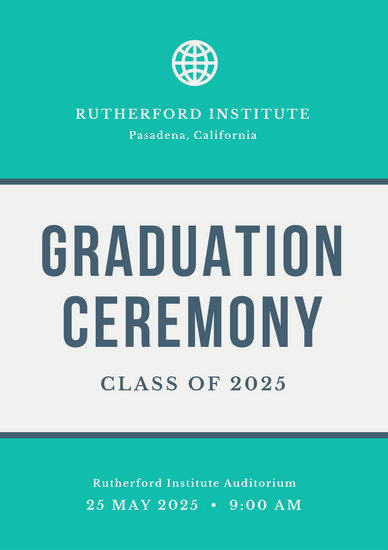 Customize 137 Graduation Program Templates Online Canva