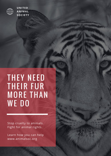 Customize 356 Animal Rights Poster Templates Online Canva
