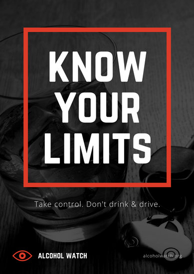 Alcohol Awareness Poster Templates Canva