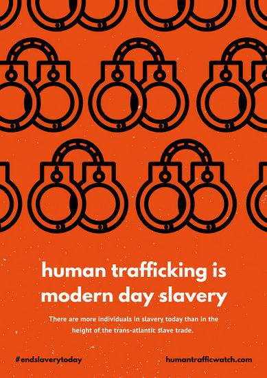 Customize 125 Human Trafficking Poster Templates Online