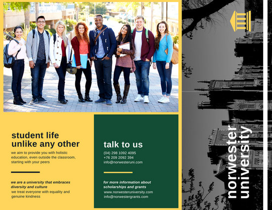 Customize 79 College Brochure Templates Online Canva