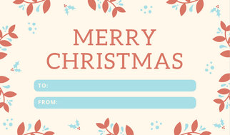 Customize 54 Christmas Tag Templates Online Canva