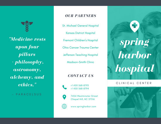Customize 56 Medical Brochure Templates Online Canva