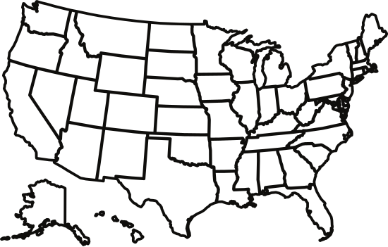 Map Of America States