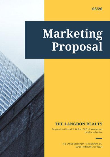 Customize 201 Proposal Templates Online Canva