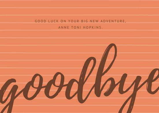 Customize 79+ Farewell Card templates online - Canva
