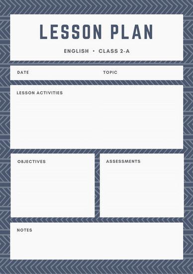 Customize 1 304 Lesson Plan Templates Online Canva