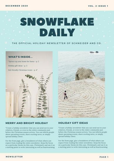 christmas newsletter template free best of fun newsletter