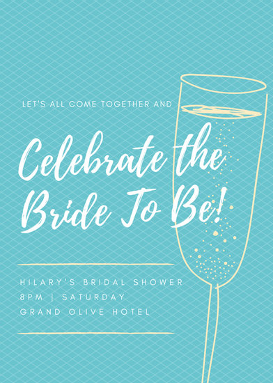 Order Bridal Shower Invitations
