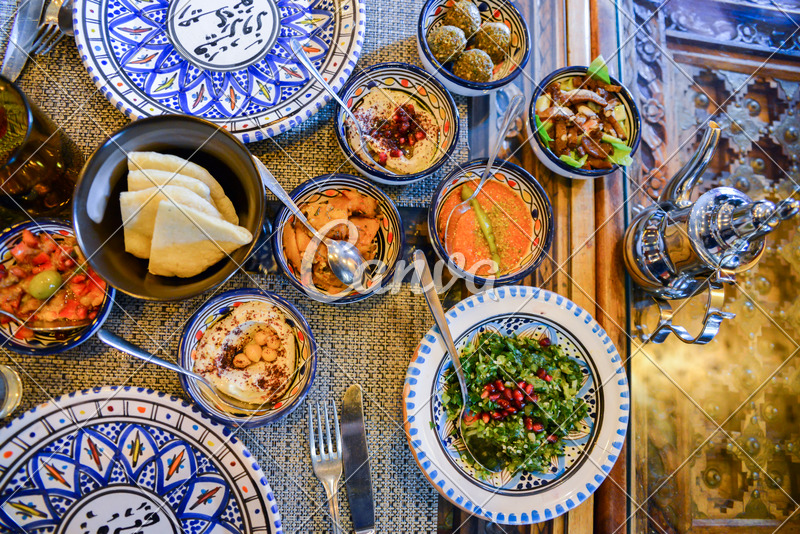 Middle Eastern or Arabic Dishes  Photos by Canva