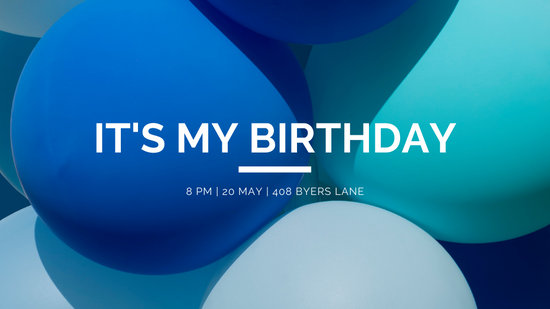 birthday invite facebook event
