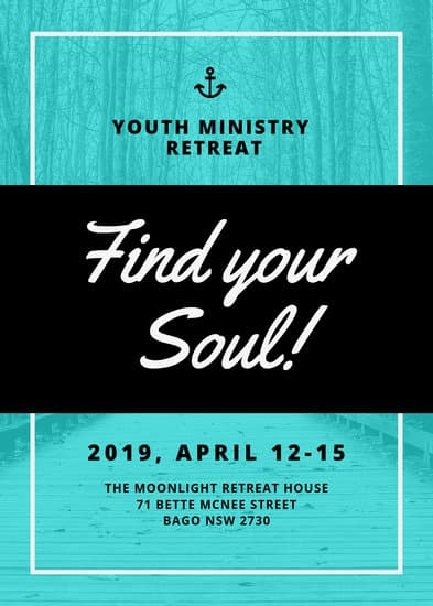 Church Retreat Flyer  Templates by Canva