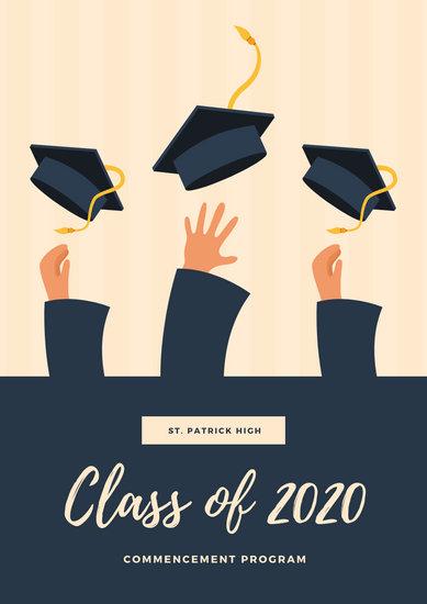 customize 75 graduation program