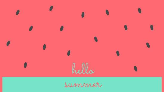 Customize 69 Summer Desktop Wallpaper templates online  Canva