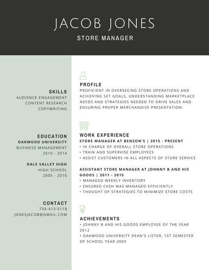 Customize 67 Professional Resume templates online  Canva