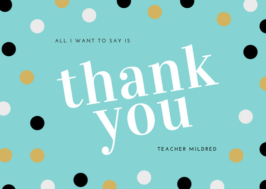 Customize 394 Thank You Card templates online  Canva