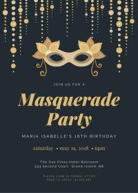 Customize 377+ 18th Birthday Invitation templates online ...