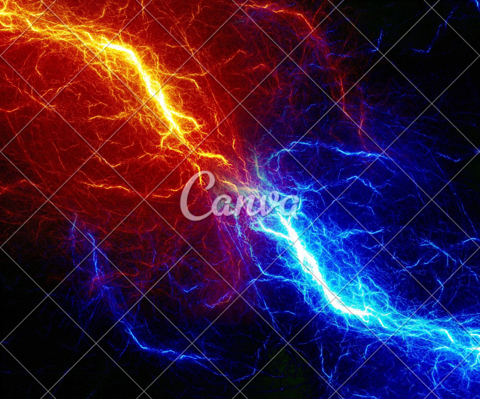 fire and ice lightning