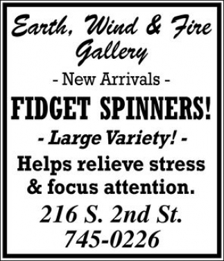 Fidget Spinners!, Earth, Wind and fire Gallery