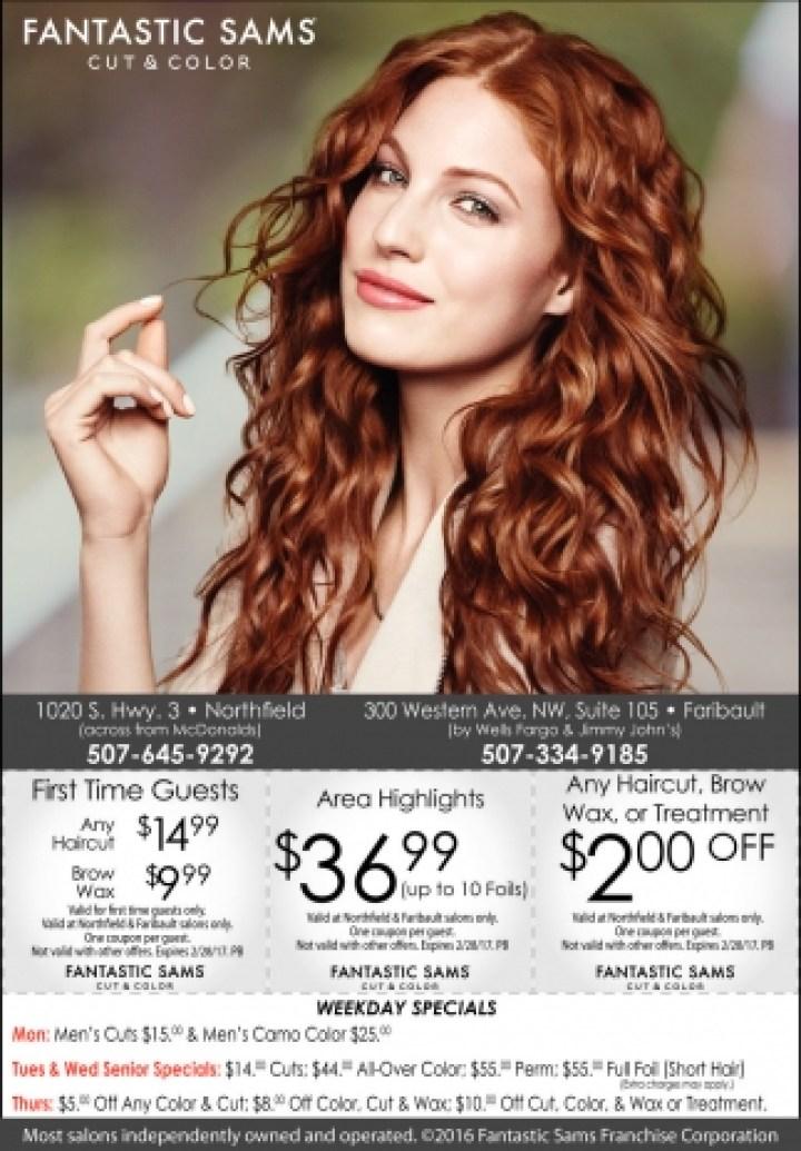 Fantastic Sams Hair Color Specials Todayss