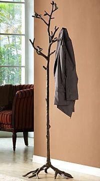 Bird On Branch Lovebird Coat Rack Hat Hall Tree Stand ...