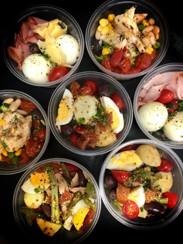Lunchtime Snack Pots