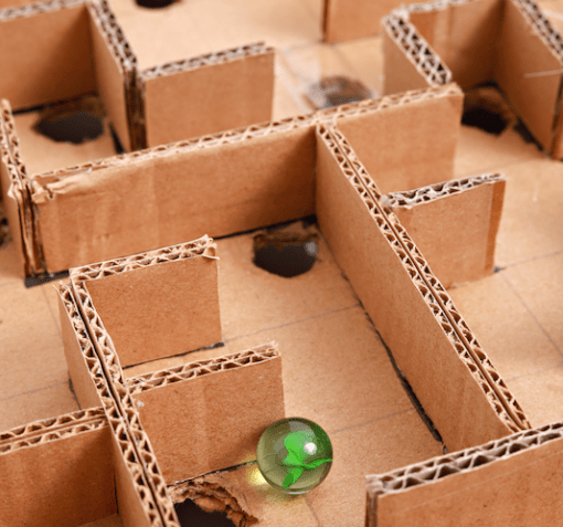 profit center marketing processes marble maze