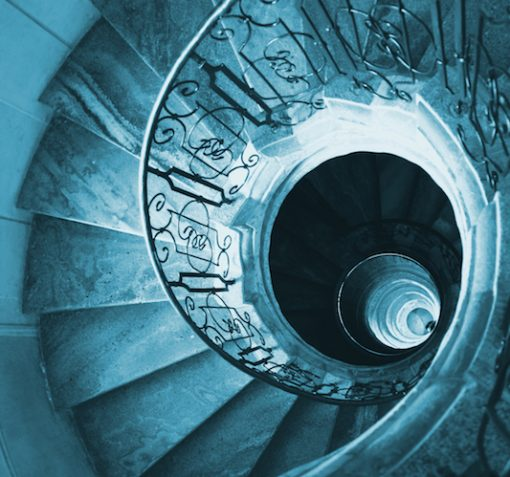 spiral staircase signaling we can clarify messages through brand positioning strategy