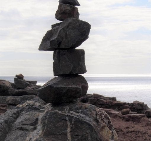 balanced rocks in investment banking marketing