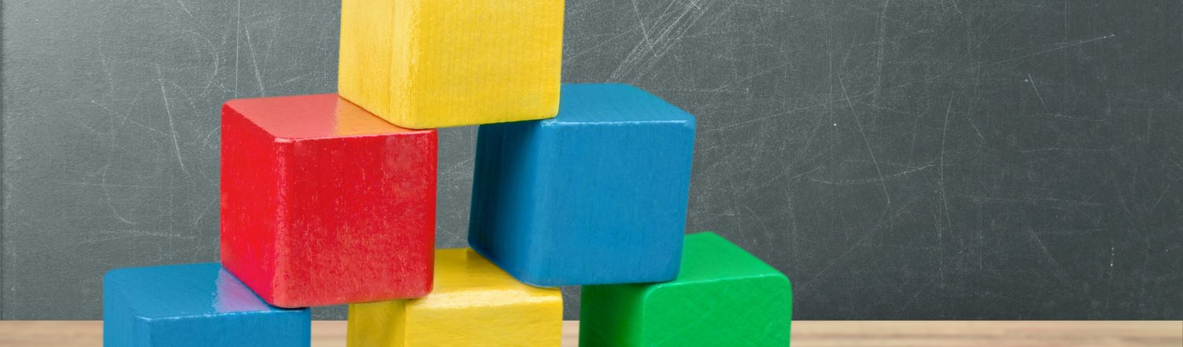 building blocks stacked