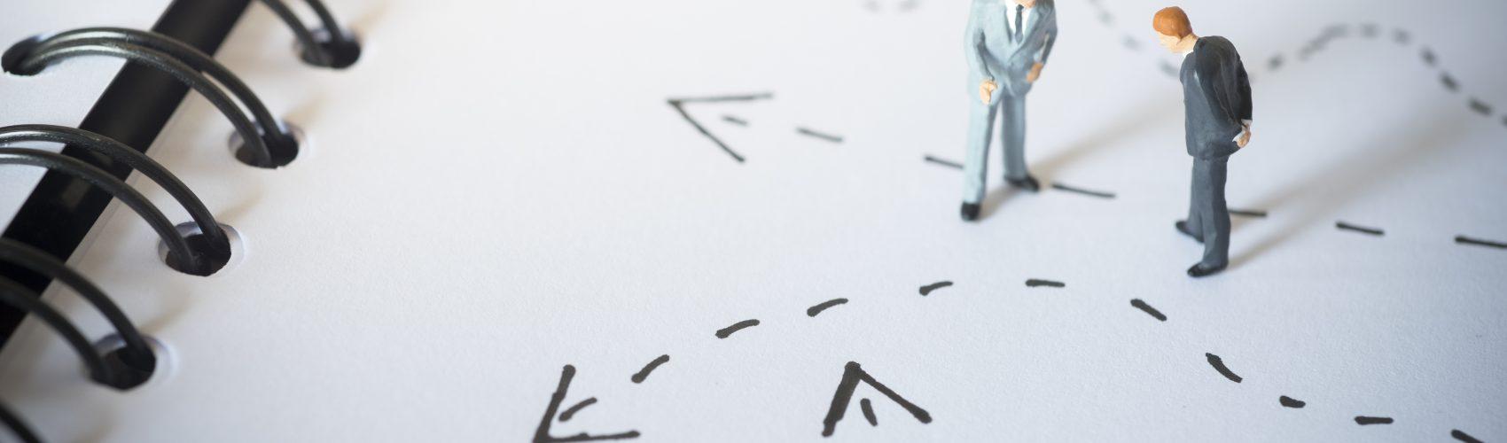 arrows on paper