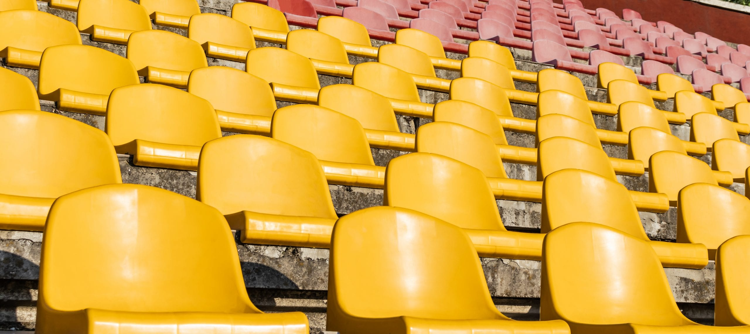 empty stands