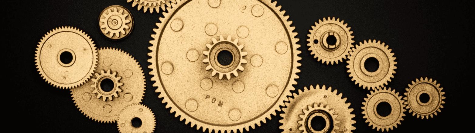 gears in a machine
