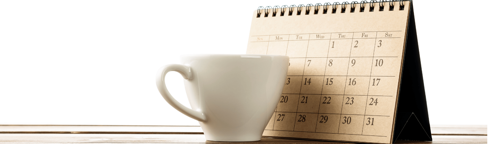 B2B marketing planning with calendar
