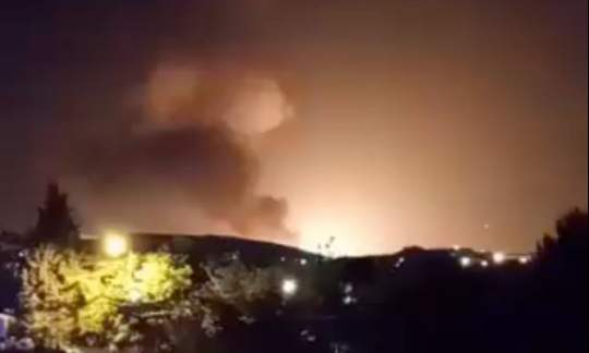 teheran explosion 2020