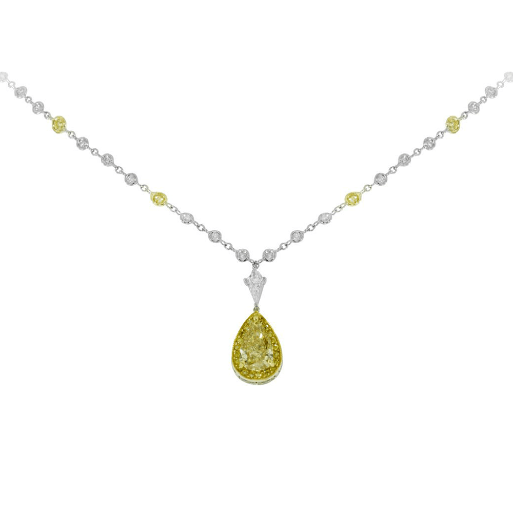 reeds jewelers yellow necklace item heart gold tous