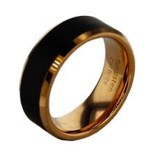 Men's Wedding Band Black Tungsten