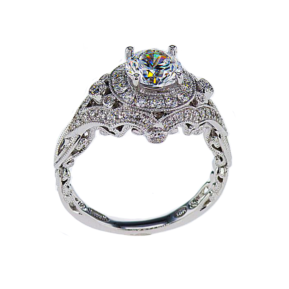 Perfect Art Deco Inspired Engagement Ring
