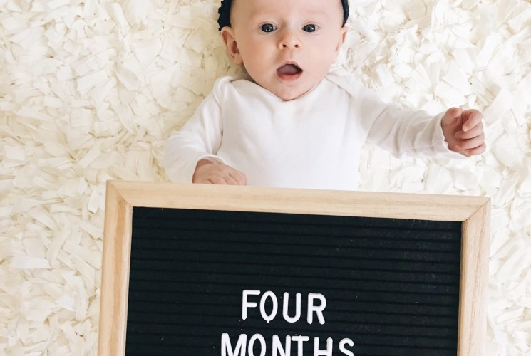 Baby Update: Sloane at Four Months Old
